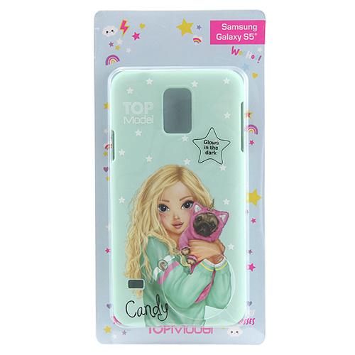 Ochranný kryt Top Model ASST Candy, pro Samsung Galaxy S5, světle zelený