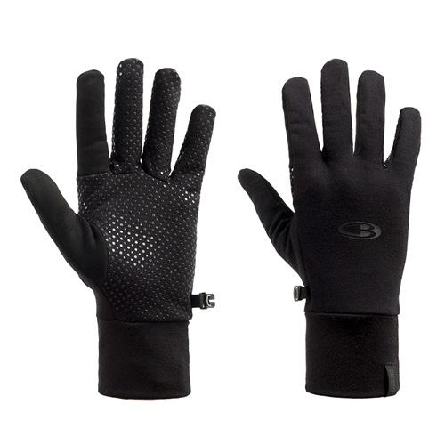 Icebreaker Adult Sierra Gloves I001 TWISTER HTHR/GLACIER/JET HTHR | XL
