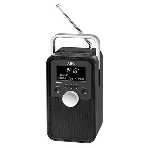 Digitální rádio AEG DR 4149 DAB, přenosné, DAB+RDS, AUX