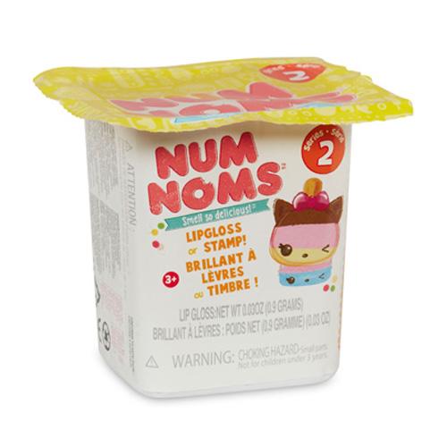 Překvapení Num Noms MGA 2. série, voňavá figurka s leskem na rty nebo s razítkem