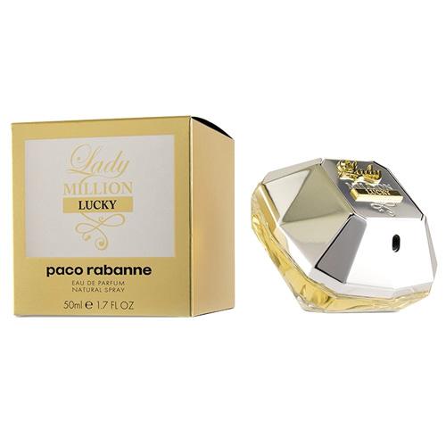 Parfémová voda Paco Rabanne Lady Million Lucky, 50 ml