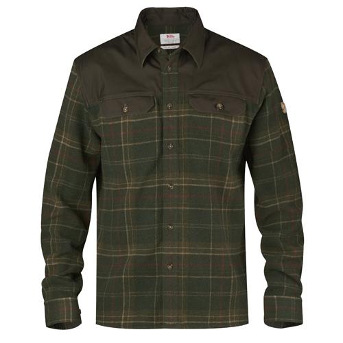 Fjällräven Granit Shirt M Green | 620 | M