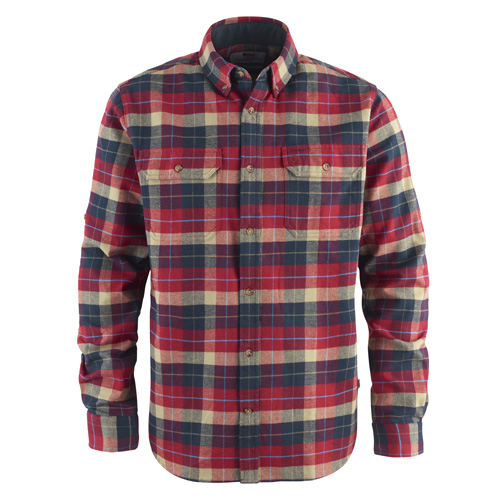 Fjällräven Singi Heavy Flannel Shirt Deep Red | 325 | XL