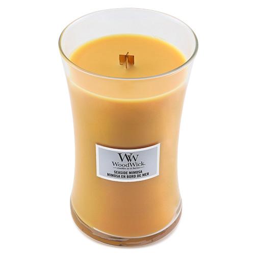 Svíčka oválná váza WoodWick Přímořský koktejl, 609.5 g