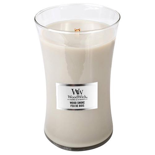 Svíčka oválná váza WoodWick Kouř z cedrového dřeva, 609.5 g