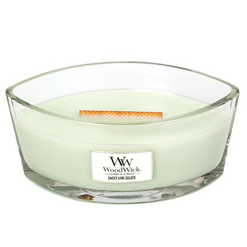 Svíčka dekorativní váza WoodWick Sladká zmrzlina, 453.6 g