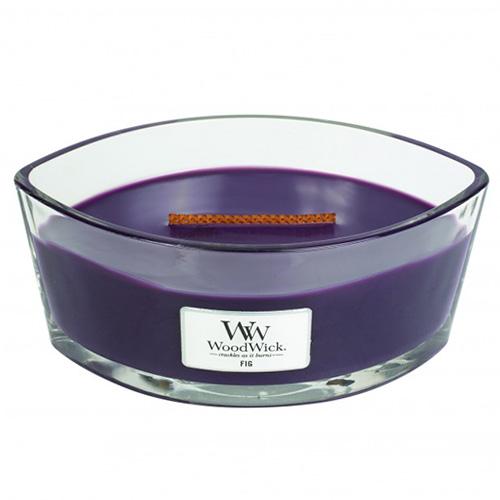 Svíčka dekorativní váza WoodWick Fík, 453.6 g