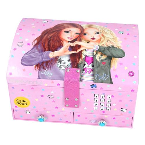 Šperkovnice Top Model Lexy a Nadja, světle růžová