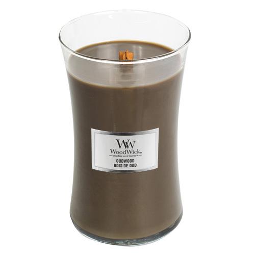 Svíčka oválná váza WoodWick Pryskyřice, 609.5 g