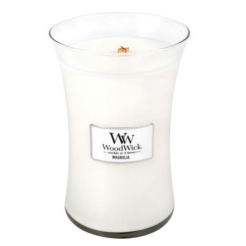 Svíčka oválná váza WoodWick Magnólie, 609.5 g