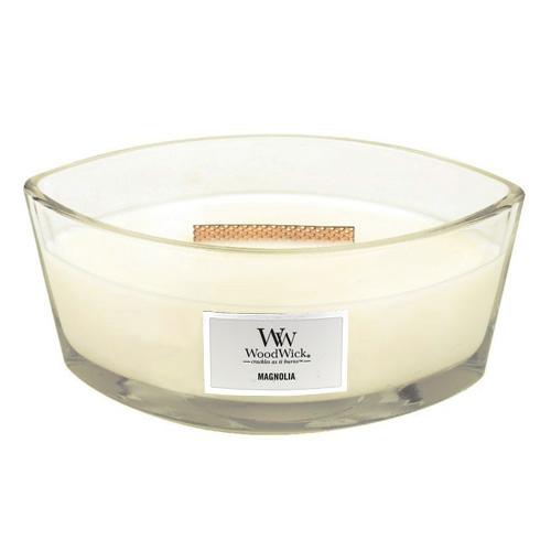 Svíčka dekorativní váza WoodWick Magnólie, 453.6 g