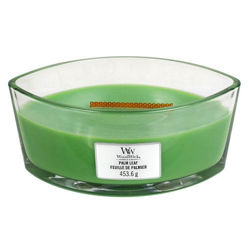 Svíčka dekorativní váza WoodWick Palmový list, 453.6 g