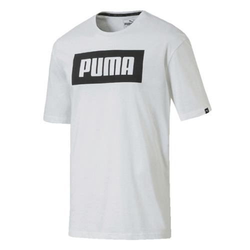 Tričko Puma Rebel Basic Tee 418316 | Muži | Bílá | L