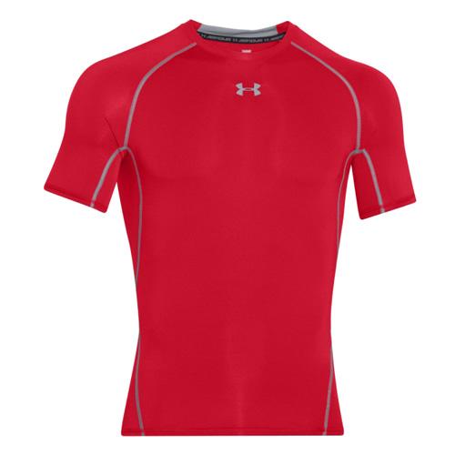 Kompresní tričko Under Armour HG s krátkým rukávem | Červená | S