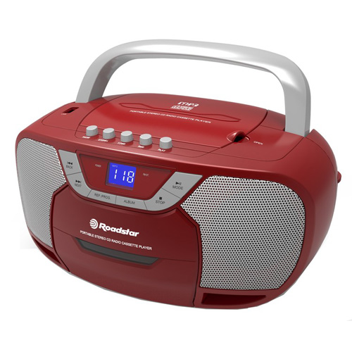 Roadstar BOOMBOX WITH CD/MP3/CASSETE RCR-4625U/RD