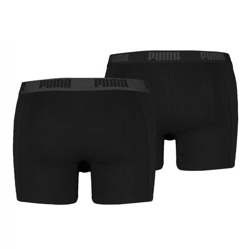 Boxerky Puma 2 Pack | Basic Boxer | Černá | S