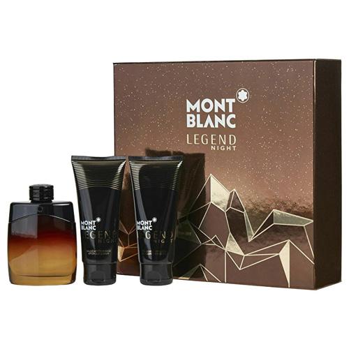 Montblanc Mont Blanc Legend Night 100 ml EDP + 100ml ASB + 100 ml SG M