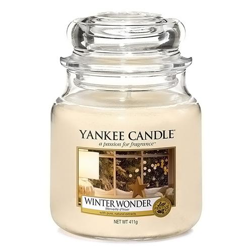 Svíčka ve skleněné dóze Yankee Candle Zimní zázrak, 410 g