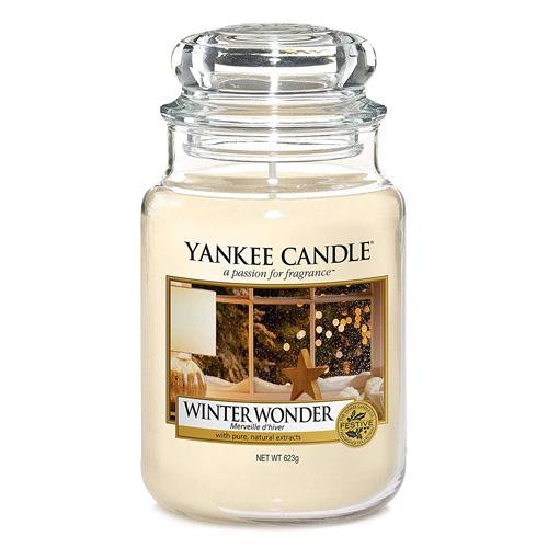 Svíčka ve skleněné dóze Yankee Candle Zimní zázrak, 623 g