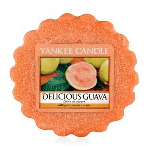 Vonný vosk Yankee Candle Lahodná kvajáva, 22 g
