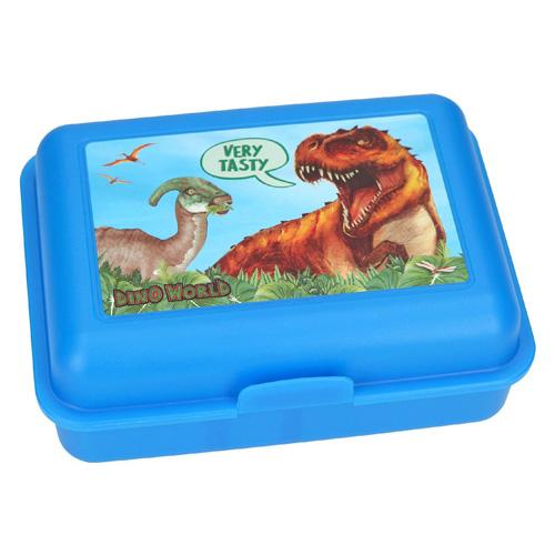 Svačinový box Dino World Modrá