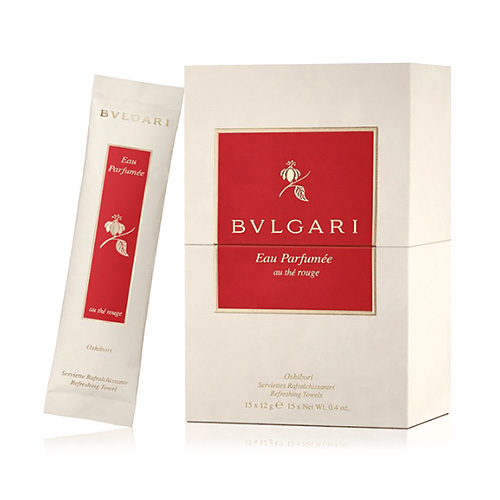 Bvlgari The Rouge 15ml EDC + Refreshing Towels