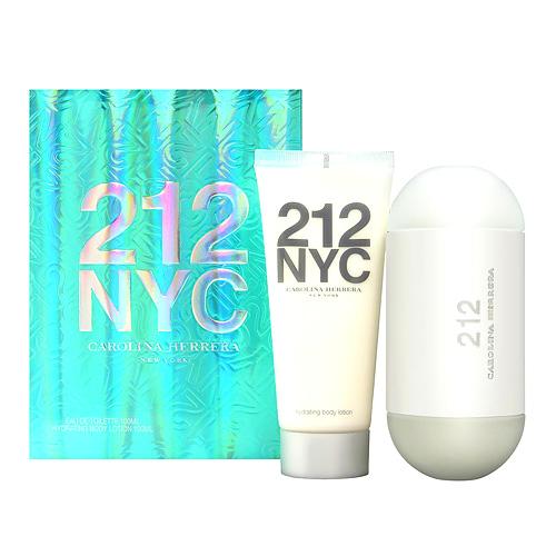 Carolina Herrera 212 NYC Travel Excl 100ml EDT Set