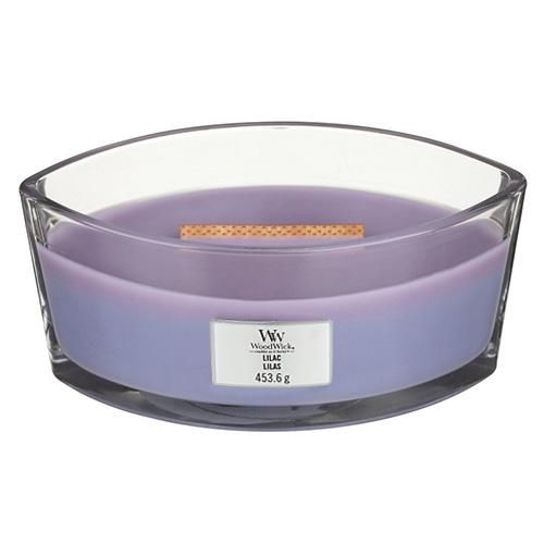 Svíčka dekorativní váza WoodWick Šeřík, 453.6 g
