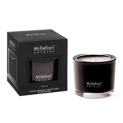 Vonná svíčka Millefiori Milano Nero, Natural, 180 g