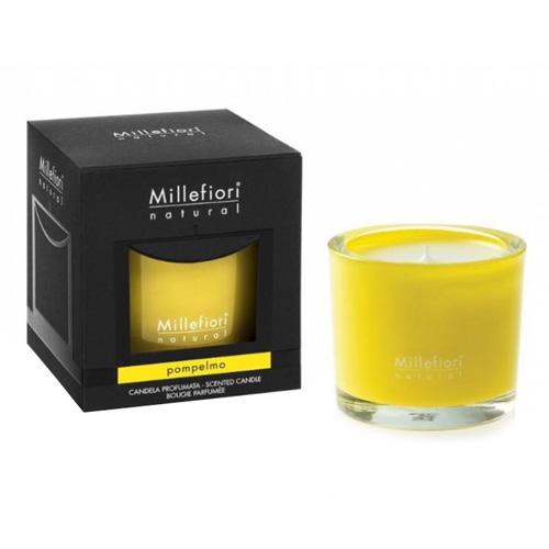 Vonná svíčka Millefiori Milano Grep, Natural, 180 g