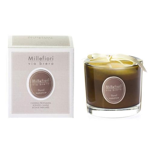 Vonná svíčka Millefiori Milano Květinová romance, Via Brera, 180 g