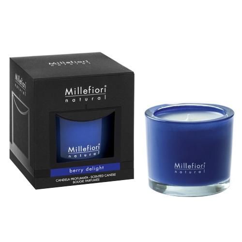 Vonná svíčka Millefiori Milano Ovocné potěšení, Natural, 180 g