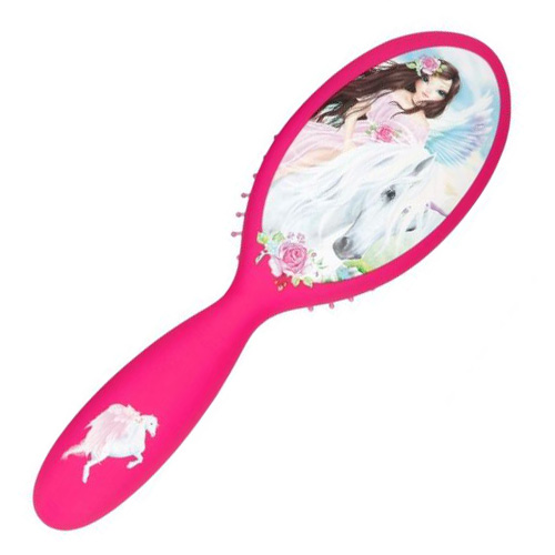 Kartáč na vlasy Top Model ASST Pegas, tmavě růžový
