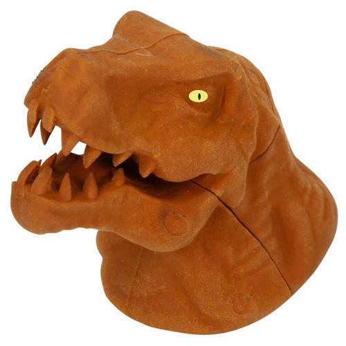 Gumovací pryž Dino World ASST Hnědý T-Rex, 3D puzzle