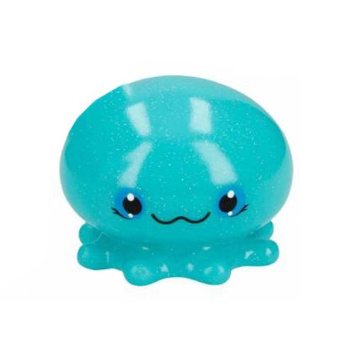 Zvířátko do vody Snukis ASST Modrá medůza, svítící