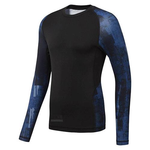 Tričko Reebok Combat Long Sleeve RashGuard | Černá | M