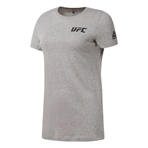 Dámské tričko Reebok UFC logo Tee | Šedá | S