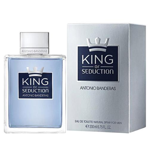 Antonio Banderas King of Seduction M EDT 200ml