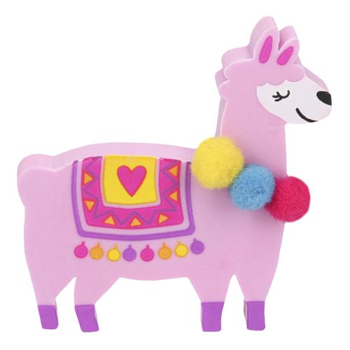 Gumovací pryž Top Model ASST Růžová lama