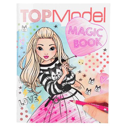 Omalovánky Top Model Candy, Magic Book