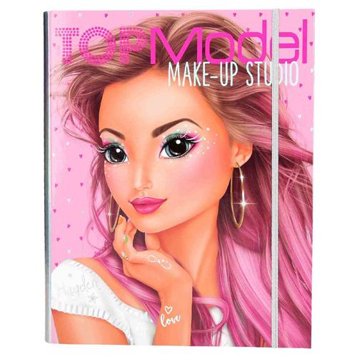 Omalovánky, kreativní sada Top Model Make-Up studio, s líčidly