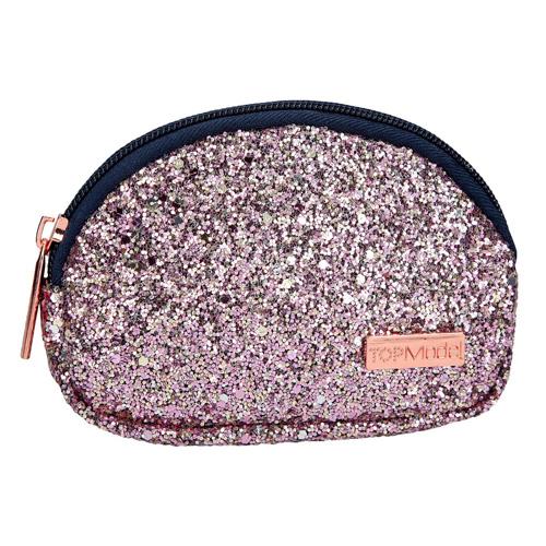 Kosmetická taška malá Top Model Růžové třpytky