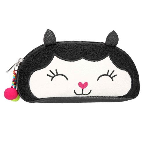 Kosmetická taška Top Model Černá s lamou