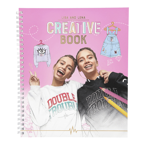 Omalovánky, kreativní sada J1MO71 Lisa a Lena