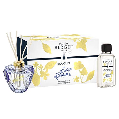 Lampe Berger Dárkový set Maison Berger Paris Aroma difuzér s náplní Lolita Lempicka, 200 ml, fialový