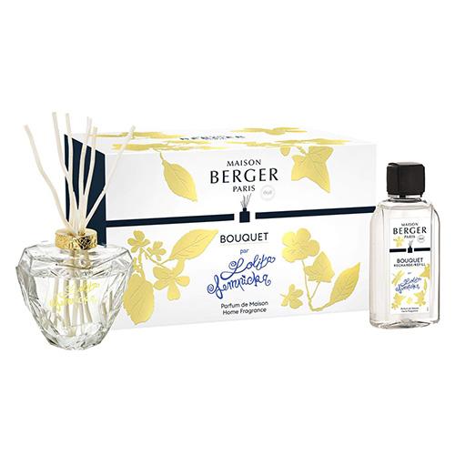 Lampe Berger Dárkový set Maison Berger Paris Aroma difuzér s náplní Lolita Lempicka, 200 ml, čírý