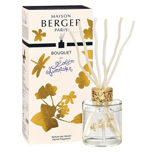 Lampe Berger Skleněný difuzér Maison Berger Paris Lolita Lempicka, 115 ml, vrbové tyčinky