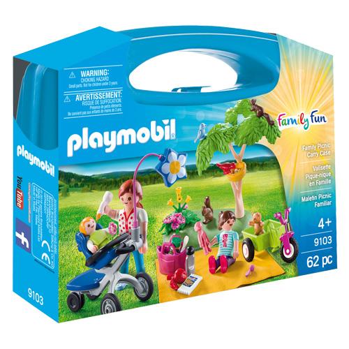 Rodinný piknik Playmobil Život ve městě, 62 dílků
