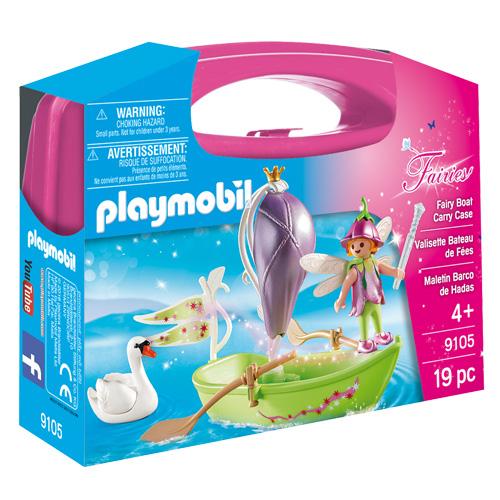 Víla na loďce Playmobil Víly a jednorožci, 19 dílků