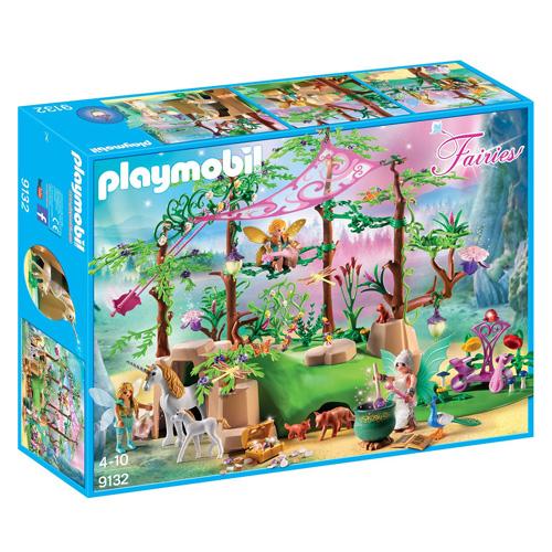 Kouzelný les s vílami Playmobil Víly a jednorožci, 182 dílků